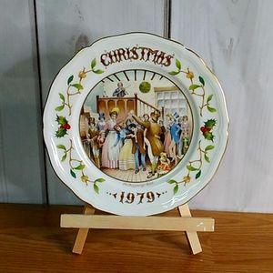 Christmas 1979 plate